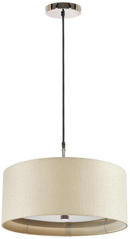 Lampa wisząca Sienna P CR Elstead Lighting nowoczesna oprawa w kolorze kremowym