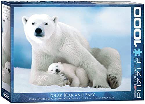 Eurographics Niedźwiedź polarny i Ba od Puzzle (1000 sztuk)
