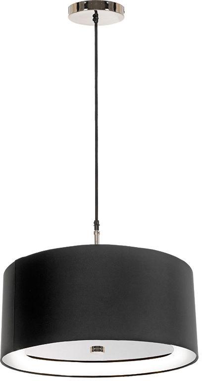 Lampa wisząca Sienna P BLK Elstead Lighting nowoczesna oprawa w kolorze czarnym