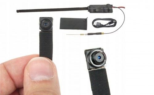 Kamera pluskwa instalacyjna wi-fi mini detekcja ruchu q2