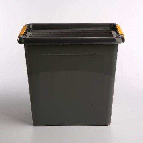 Pojemnik do przechowywania zamykany 300x350x400mm 30,0l ORPLAST SOLIDSTORE BOX szary 1 szt /OR-1542/