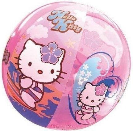 Gumowa Kolorowa Piłka Hello Kitty Kot Kotek Mondo 23 cm