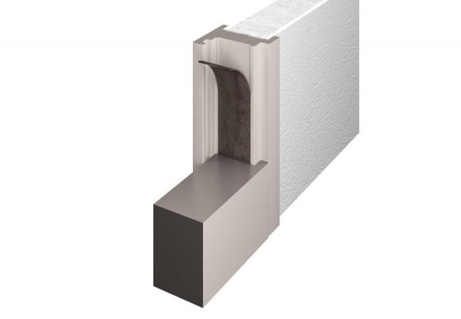 Uszczelka do drzwi przeciwpożarowych samoprzylepna Marvon Tecnoflame 50x2 mm (MA0TP215020S0)