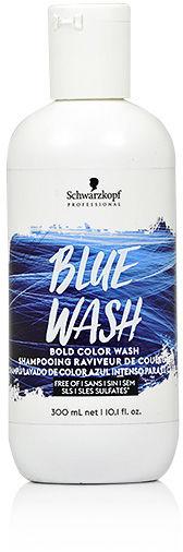 Schwarzkopf Bold Color Wash Szampon koloryzujący 300 ml Blue Wash