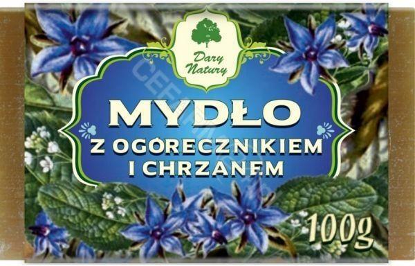 DARY NATURY Mydło z Ogórecznikiem i Chrzanem 100 g