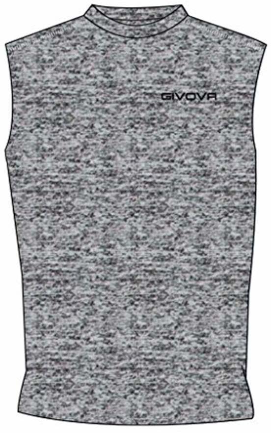 Givova, Corpus 1 elastyczny podkoszulek, szary przezroczysty, XL