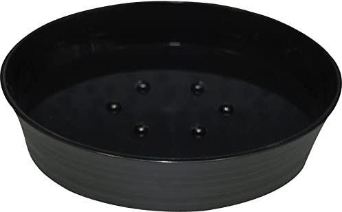 Grund TOWER mydelniczka 12 x 8,5 x 3,5 cm czarna akcesoria, 100% powlekany gumą, polipropylen 12 x 8,5 x 3,5 cm