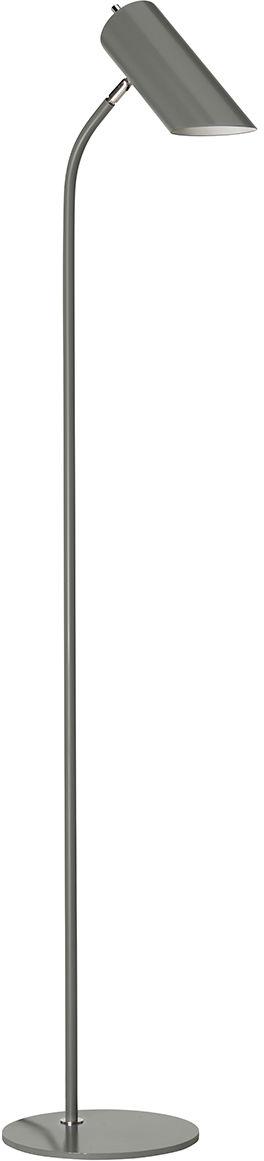 Lampa podłogowa Quinto FL GPN Elstead Lighting nowoczesna oprawa w kolorze szarym