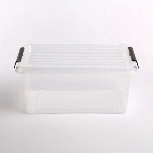 Pojemnik do przechowywania zamykany 290x165x390mm 12,5l ORPLAST SIMPLE BOX transparentny 1 szt /OR-1522SB/