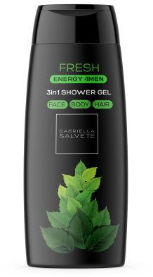 Gabriella Salvete Energy 4Men Fresh 3in1 żel pod prysznic 250 ml dla mężczyzn
