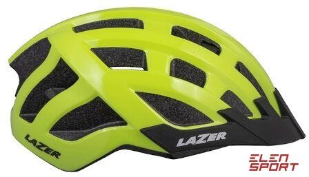 Kask rowerowy Lazer Petit DLX (50-56) jaskrawożółty