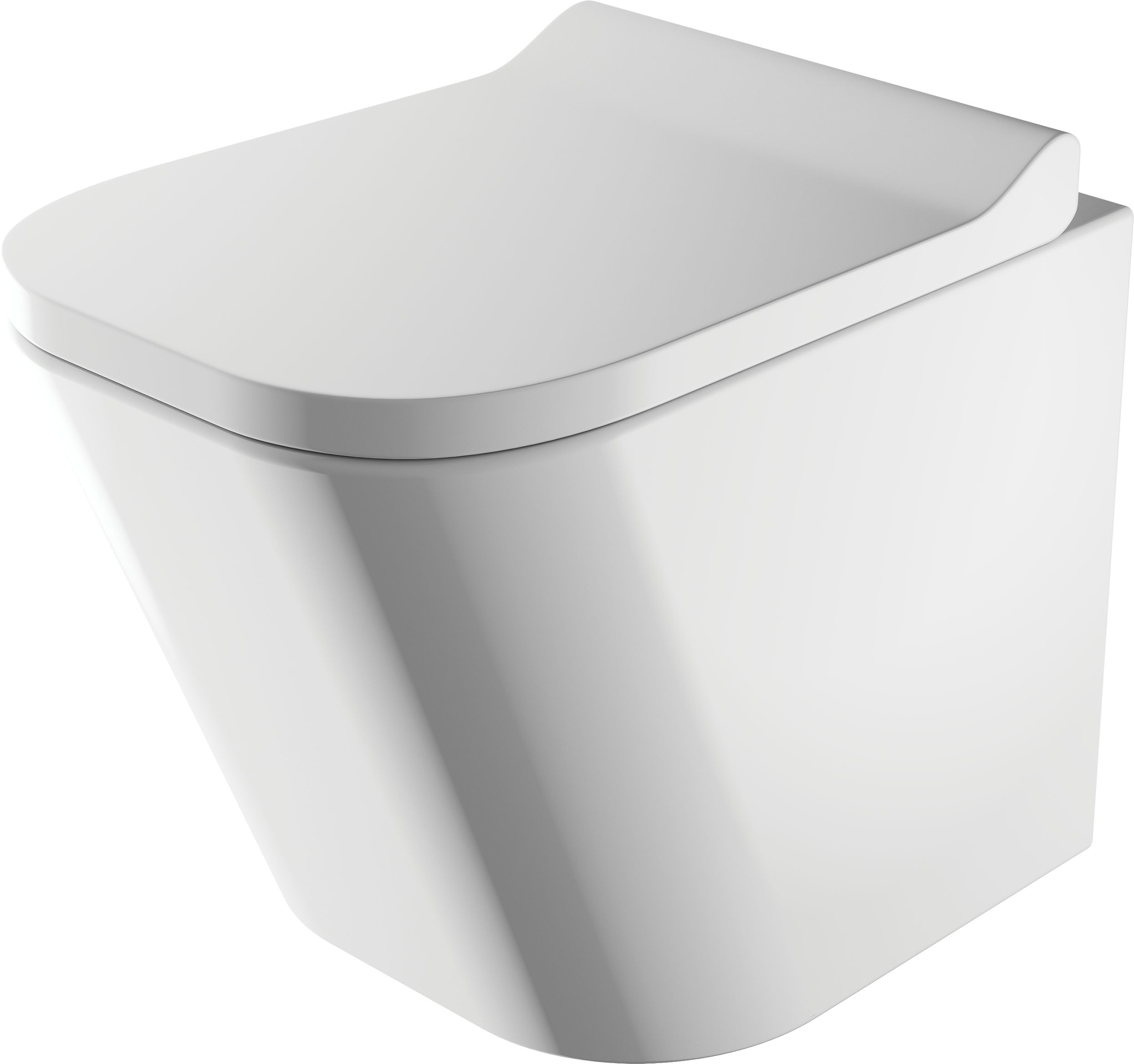 OMNIRES Miska toaletowa wisząca FONTANA bezkołnierzowa FONTANAMWBP