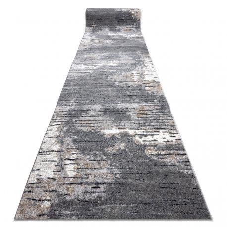 Chodnik COZY 8876 Rio - Strukturalny, dwa poziomy runa szary