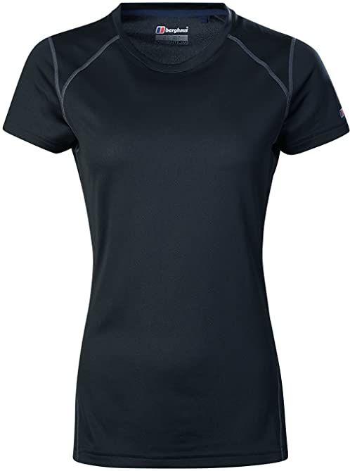 Berghaus koszulka damska Tech 2 warstwa bazowa Czarny/Czarny 14