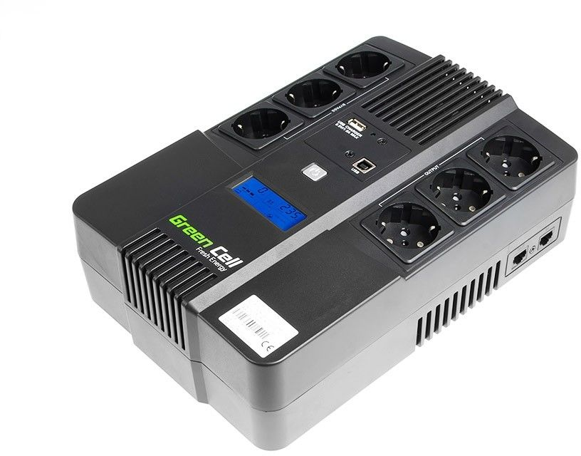 Zasilacz awaryjny UPS Green Cell AiO 800VA 480W