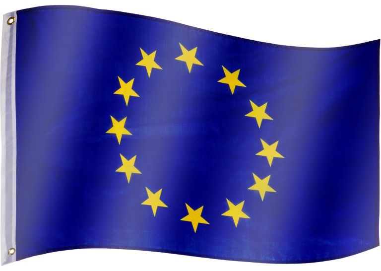 Flaga Unii Europejskiej - 120 cm x 80 cm