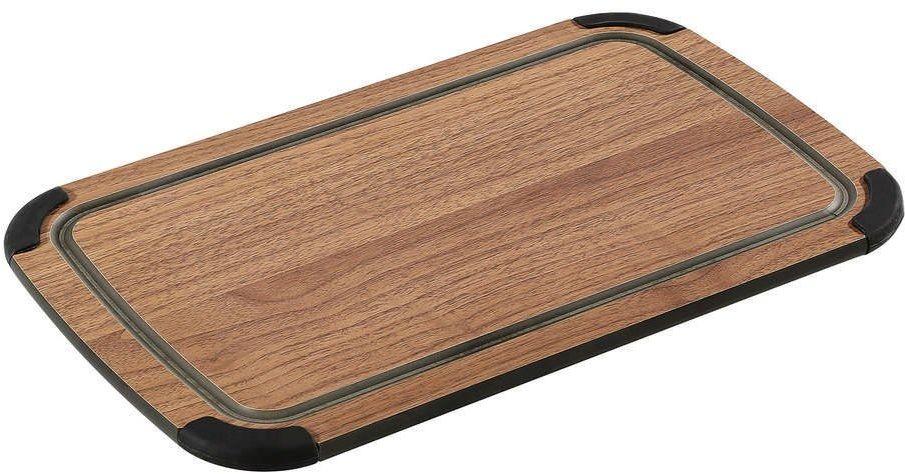 Zassenhaus - deska z laminatu włókna drzewnego - 36 23 cm - brązowa