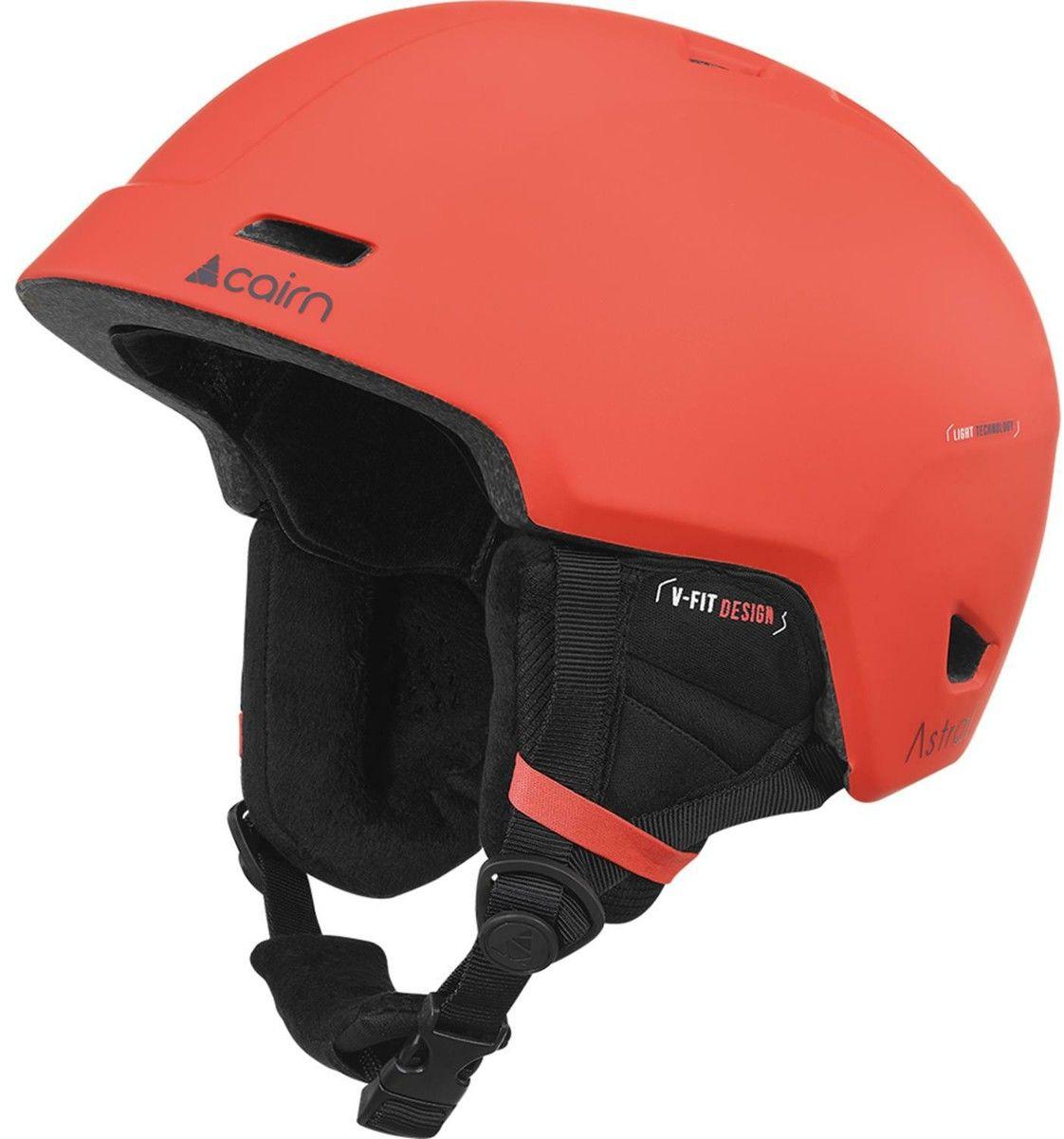 CAIRN kask zimowy narciarski/snowboardowy ASTRAL czerwony Rozmiar: 55-56,060614087