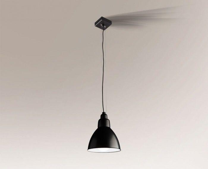 Lampa wisząca DAISEN 5595 Shilo czarny