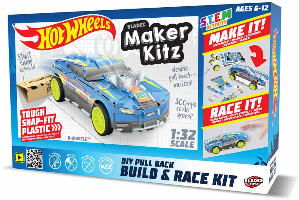 Hot Wheels Zestaw do budowy modelu Maker Kitz