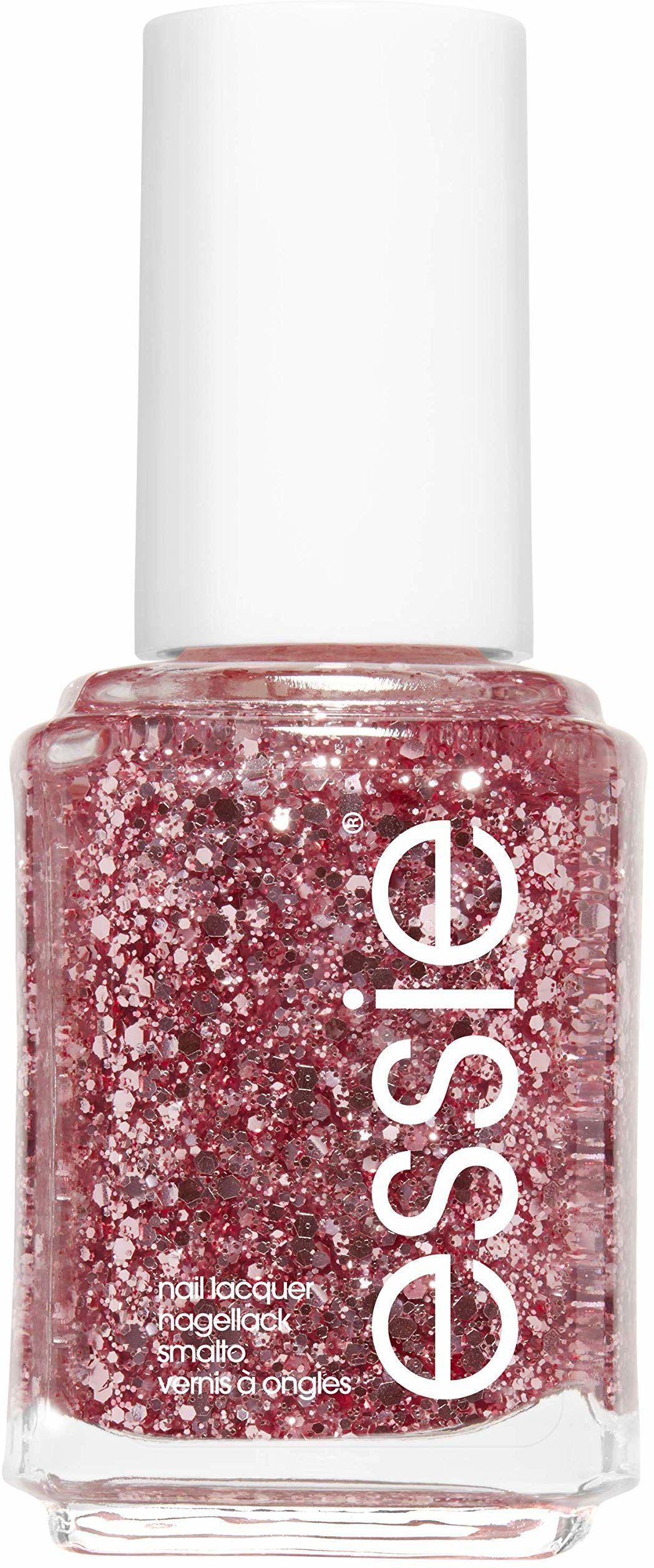 Essie Lakier do paznokci z połyskującymi paznokciami, nr 275 a cut above, brokat/różowy, 13,5 ml