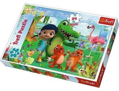 Puzzle 24el MAXI Świat Pełen Przyjaźni Wissper TREFL