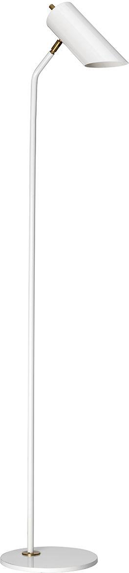 Lampa podłogowa Quinto FL WAB Elstead Lighting nowoczesna oprawa w kolorze białym