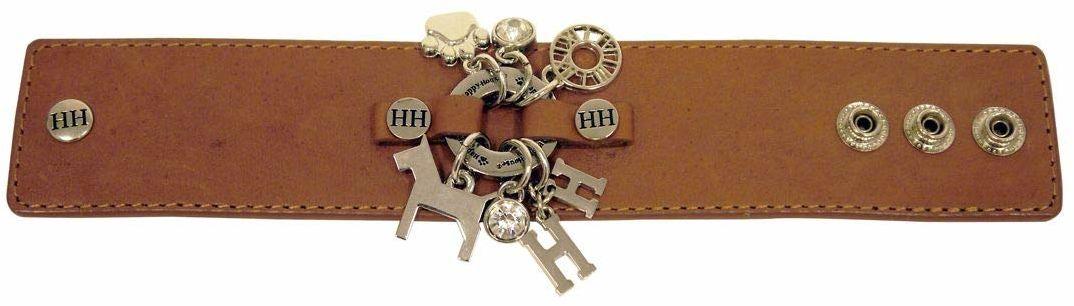 Happy-House 11421 bransoletka koniakowa srebro (szerokość), koniak, srebrna