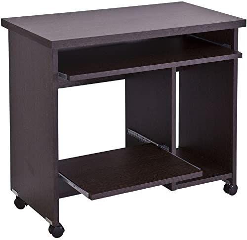 TopKit 2375WE stolik pod komputer, drewno, wenge kolor, 83 x 75 x 43 cm