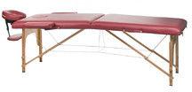 Stół do masażu i rehabilitacji BS-523 Burgund