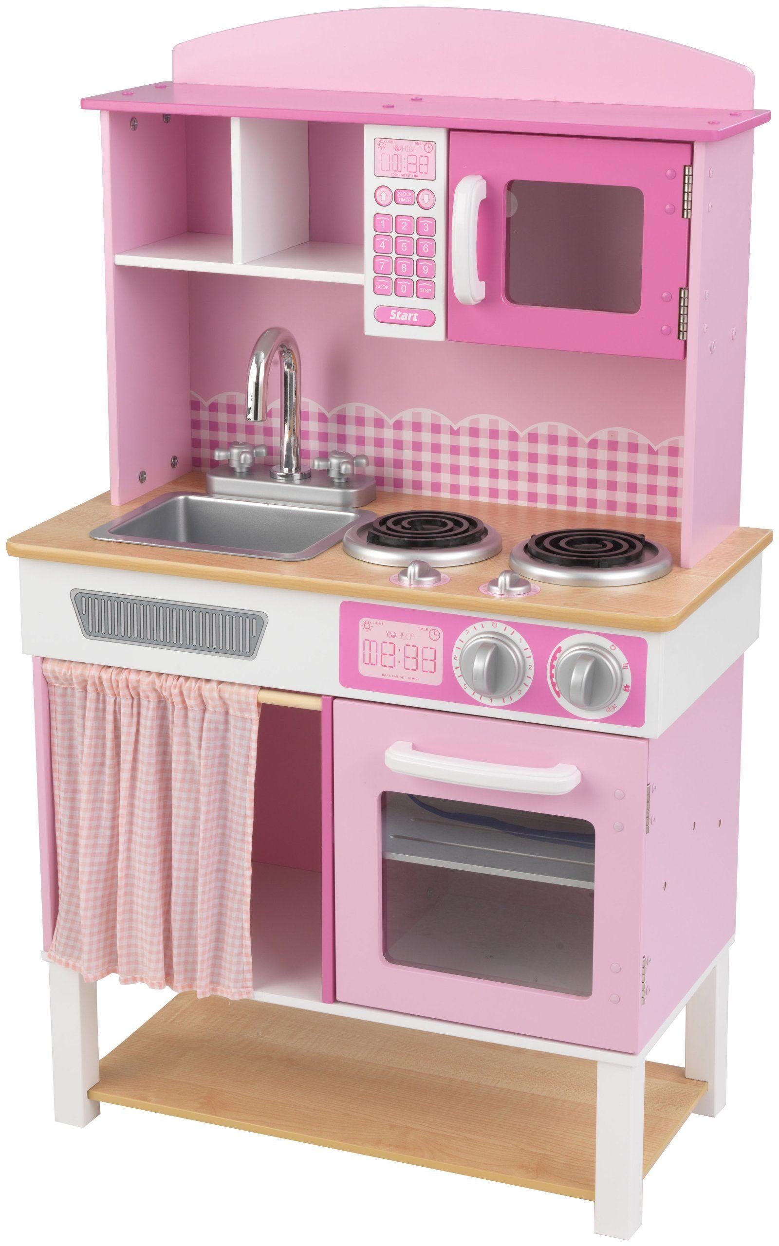 KidKraft 53198 Home Cookin drewniana kuchnia do zabawy dla dzieci
