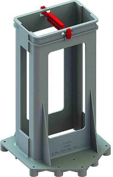 Wspornik rur elektroinstalacyjnych 130 x 132 x 210 mm