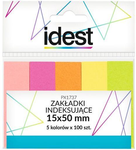 Zakładki indeksujące papierowe Oficio 15 x 50 mm, 5 kolorów, 5 x 100 sztuk -  Rabaty  Porady  Hurt  Wyceny   sklep@solokolos.pl   tel.(34)366-72-72