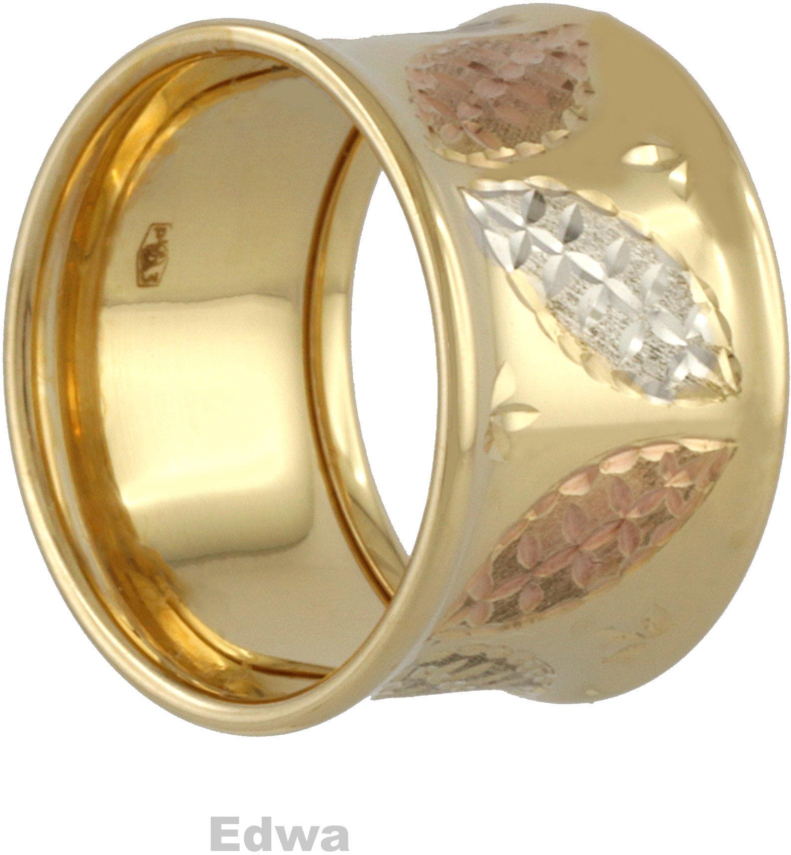 Pierścionek złoty Obrączka pr.585 roz.12