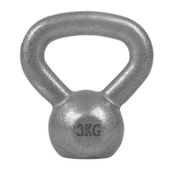 3 kg Kettlebell żeliwny Gorilla Sports