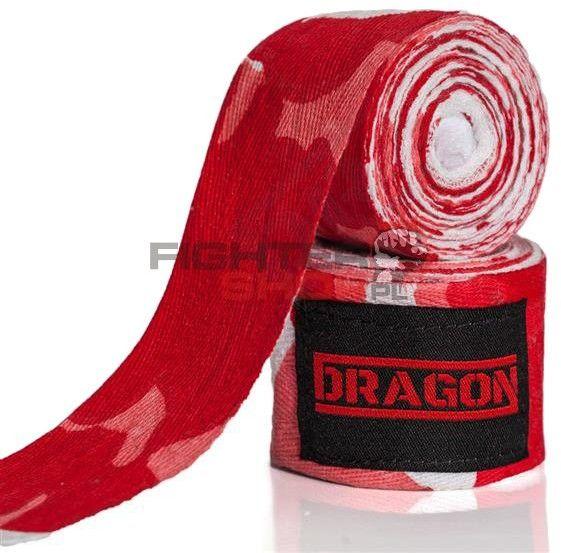 Bandaże bawełniane CAMO 4 m Dragon