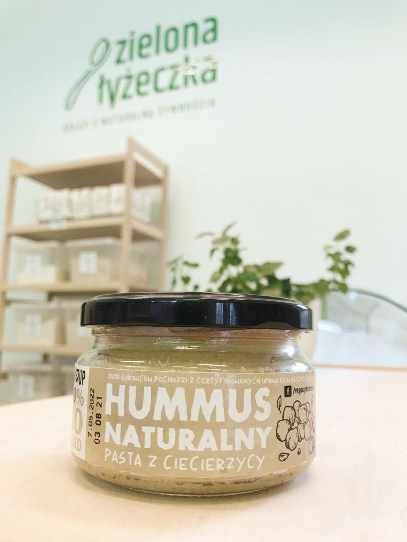 Ekologiczny hummus naturalny