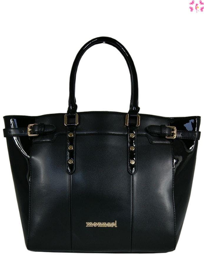 Klasyczna torebka damska Monnari czarna