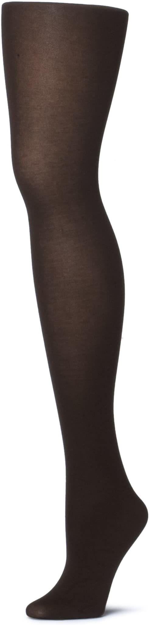 ESPRIT damskie rajstopy bawełniane, 1 para, rozmiar brytyjski L (UE 40-42), brązowe, mieszanka bawełny - przyjazna dla skóry mieszanka bawełny, pasuje do każdego wyglądu