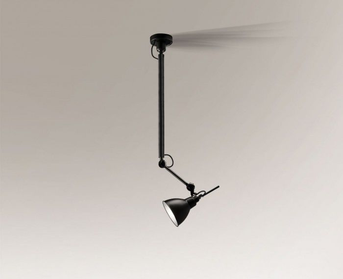 Lampa wisząca DAISEN 5623 Shilo czarny