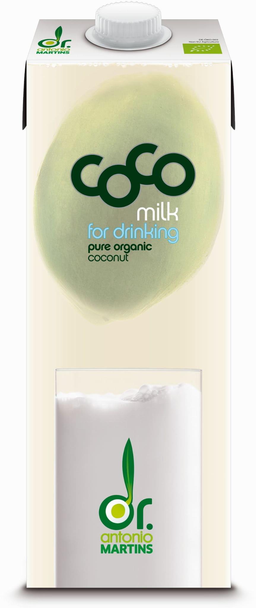 Napój kokosowy bio 1 l - coco dr martins