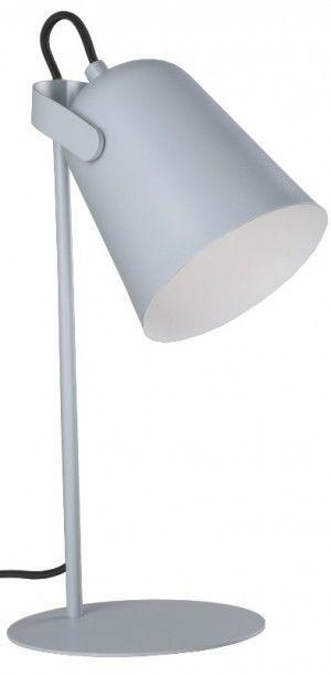 Lampa biurkowa Siri szara