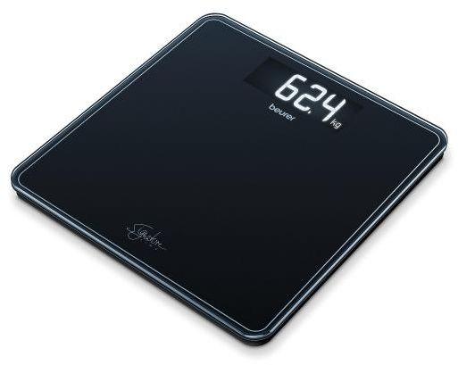 BEURER GS 400 black Waga szklana czarna z wyświetlaczem XL