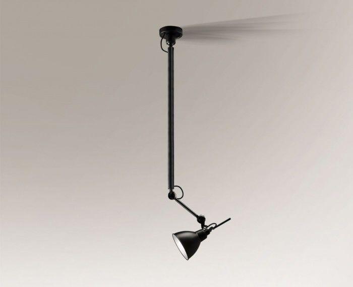 Lampa wisząca DAISEN 5624 Shilo czarny