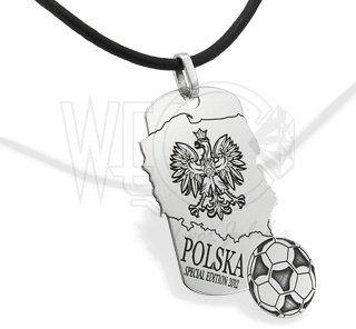 Nieśmiertelnik ze srebra polska wec-s-nw-2