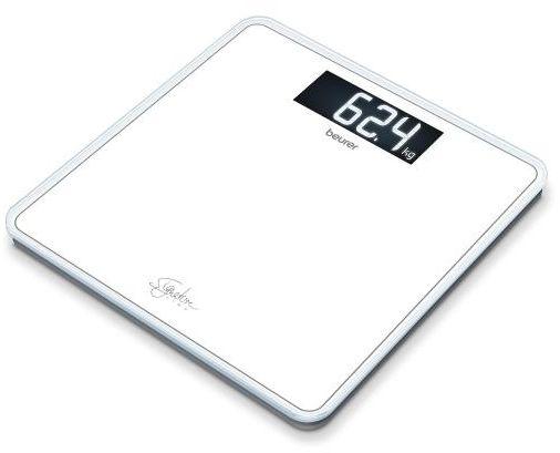 BEURER GS 400 white Waga szklana biała z wyświetlaczem XL