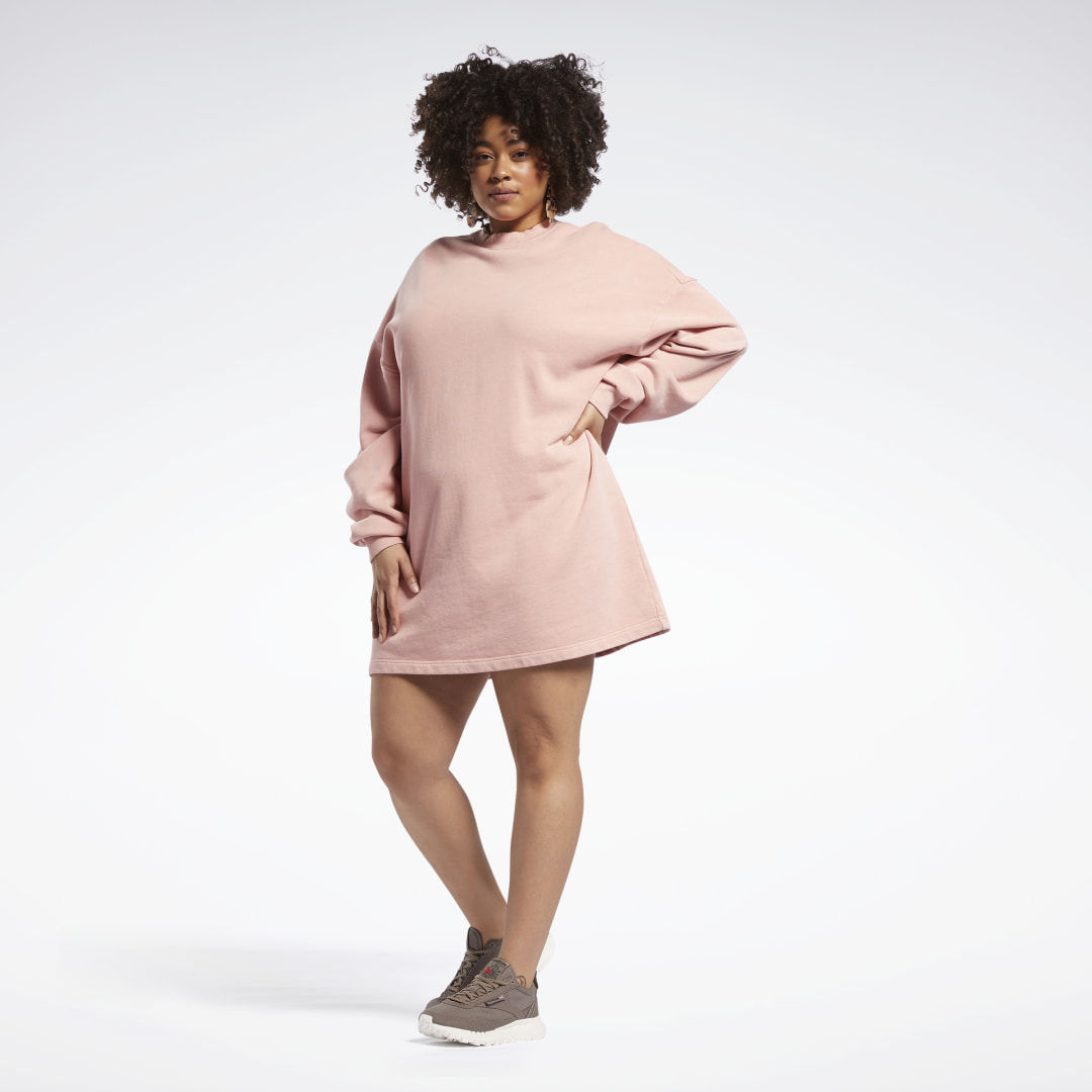 Sukienka Reebok Classics Natural Dye Sweatshirt (plus size)