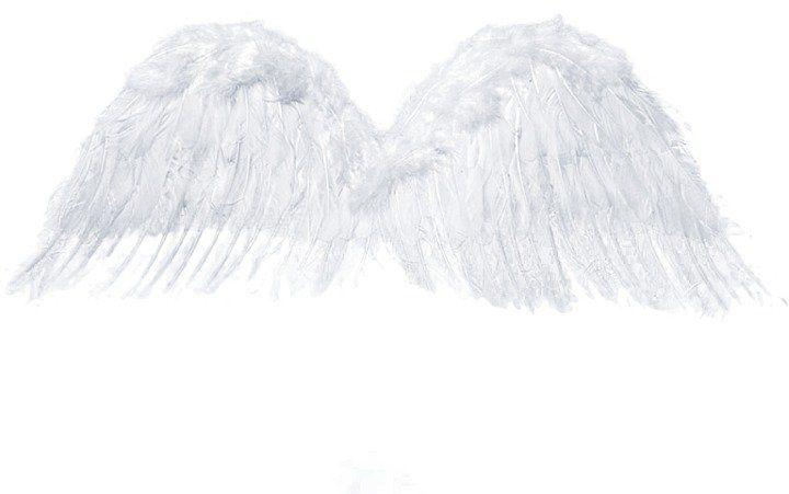 Skrzydła Anioła białe 75x30cm 1szt sk4-008