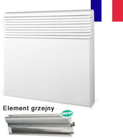 Grzejnik konwektorowy 500W, Aluminiowy ,Radiatorowy, Niskotemperaturowy element grzejny, Tactic PRO