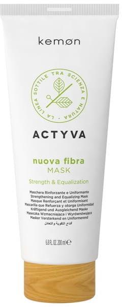 Kemon Actyva Nuova Fibra maska 200ml intensywnie odbudowuje cienkie włosy